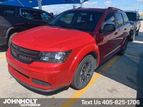 2018 Dodge Journey for sale at JOHN HOLT AUTO GROUP, INC. in Chickasha OK