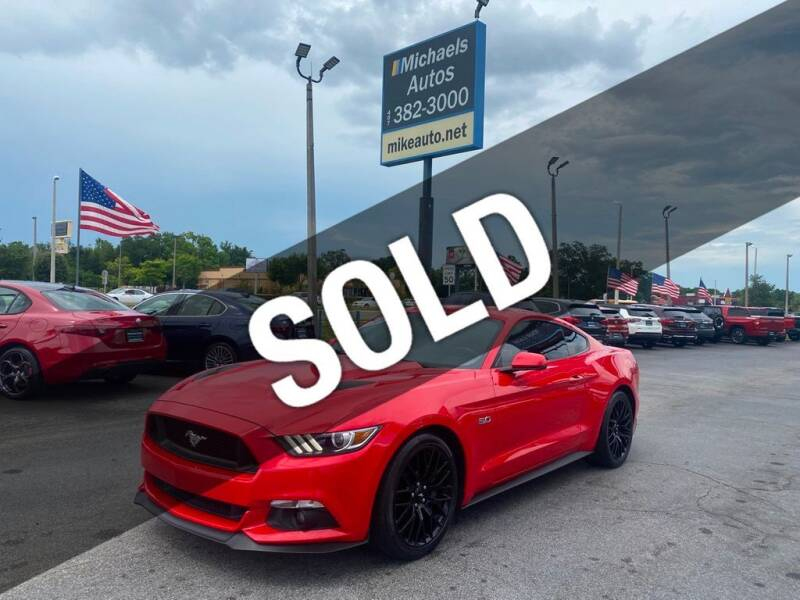 2017 Ford Mustang for sale at Michaels Autos in Orlando FL