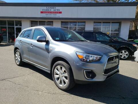 2014 Mitsubishi Outlander Sport for sale at Landes Family Auto Sales in Attleboro MA
