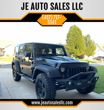 2011 Jeep Wrangler Unlimited for sale at JE AUTO SALES LLC in Webb City MO