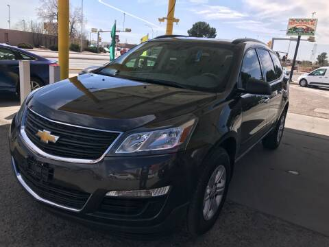 2014 Chevrolet Traverse for sale at Fiesta Motors Inc in Las Cruces NM
