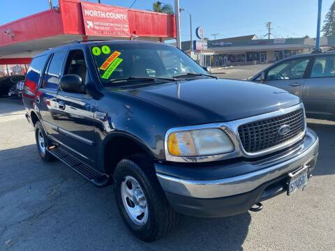 2000 Ford Expedition for sale at North County Auto in Oceanside CA