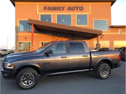 2017 RAM Ram Pickup 1500 for sale at Moses Lake Family Auto Center in Moses Lake WA