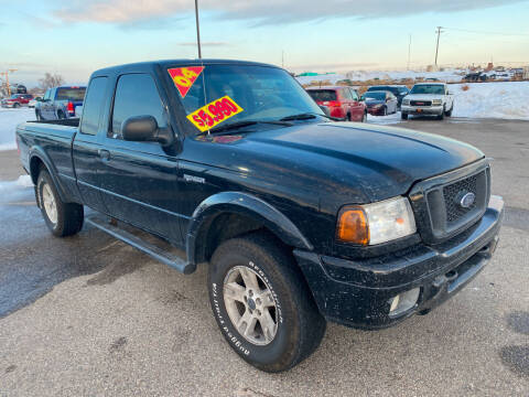 2004 Ford Ranger for sale at Top Line Auto Sales in Idaho Falls ID