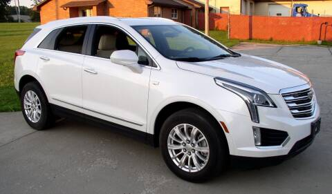 2017 Cadillac XT5 for sale at Angelo's Auto Sales in Lowellville OH