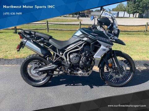 2018 Triumph Tiger 800 XCA for sale at Northwest Motor Sports INC in Rogers AR