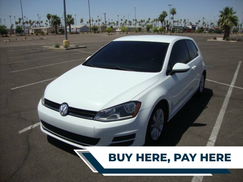 2015 Volkswagen Golf for sale at FREDRIK'S AUTO in Mesa AZ