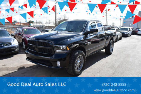 2014 RAM Ram Pickup 1500 for sale at Good Deal Auto Sales LLC in Denver CO