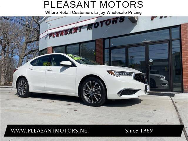 2018 Acura TLX for sale at Pleasant Motors in New Bedford MA