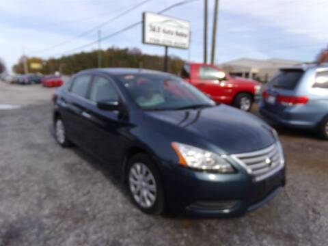 2014 Nissan Sentra for sale at J & D Auto Sales in Dalton GA