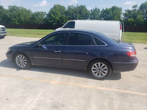 2006 Hyundai Azera for sale at El Jasho Motors in Grand Prairie TX