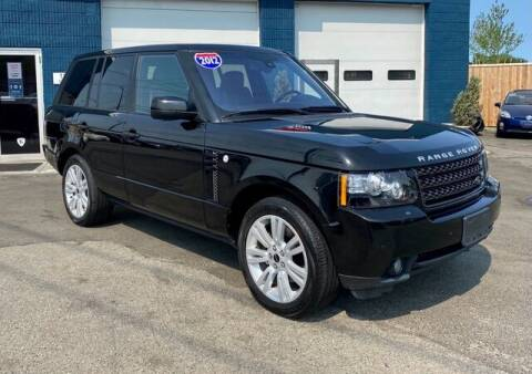 2012 Land Rover Range Rover for sale at Saugus Auto Mall in Saugus MA