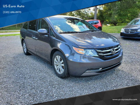 2015 Honda Odyssey for sale at US-Euro Auto in Burton OH