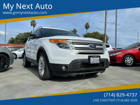 2015 Ford Explorer for sale at My Next Auto in Anaheim CA