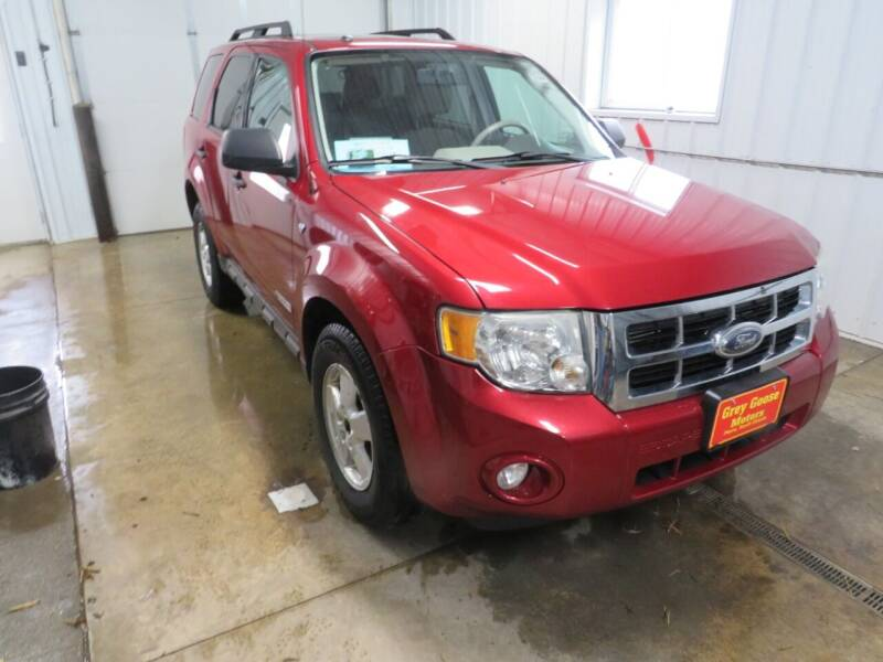 2008 Ford Escape for sale at Grey Goose Motors in Pierre SD
