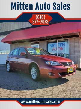 2010 Subaru Impreza for sale at Mitten Auto Sales in Holland MI