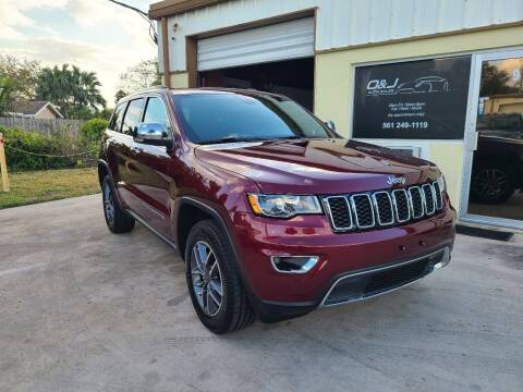 2019 Jeep Grand Cherokee for sale at O & J Auto Sales in Royal Palm Beach FL