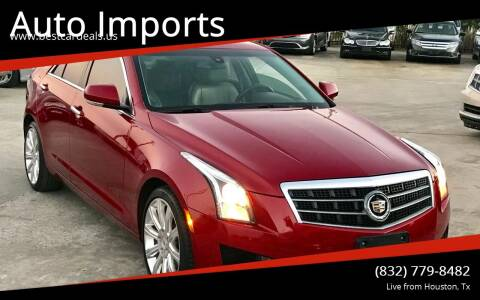 2014 Cadillac ATS for sale at Auto Imports in Houston TX