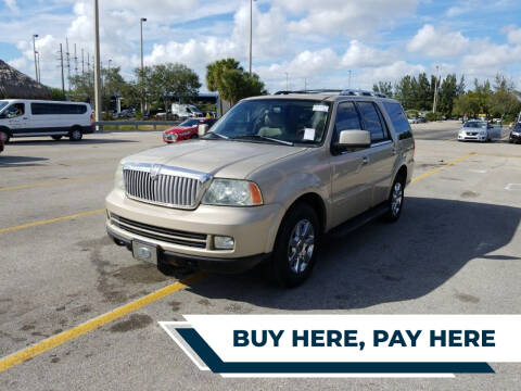 2006 Lincoln Navigator for sale at Best Auto Deal N Drive in Hollywood FL