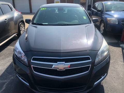 2013 Chevrolet Malibu for sale at Moore Imports Auto in Moore OK