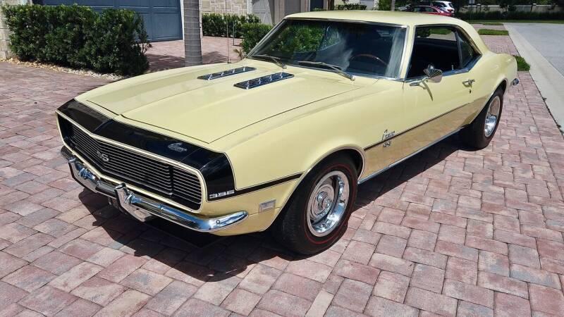 1968 Chevrolet Camaro for sale at Sunshine Classics, LLC in Boca Raton FL