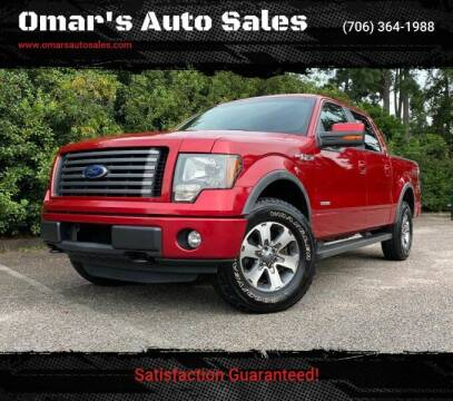 2012 Ford F-150 for sale at Omar's Auto Sales in Martinez GA