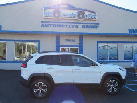 2016 Jeep Cherokee for sale at The Wholesale Outlet in Blackwood NJ