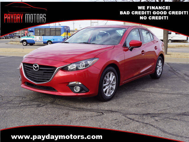 2014 Mazda MAZDA3 for sale at Payday Motors in Wichita And Topeka KS