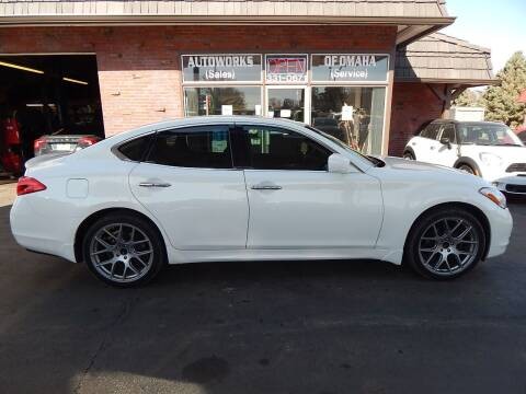 2011 Infiniti M37 for sale at AUTOWORKS OF OMAHA INC in Omaha NE