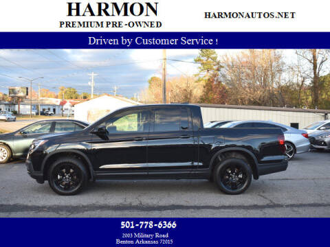 2019 Honda Ridgeline for sale at Harmon Premium Pre-Owned in Benton AR