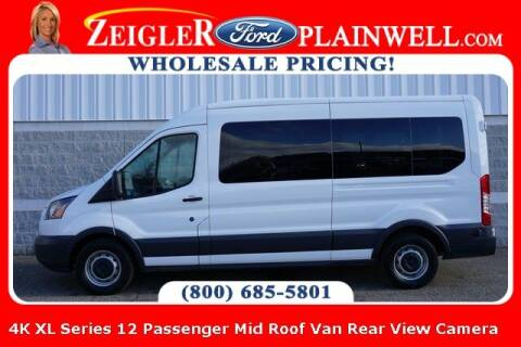 2018 Ford Transit Passenger for sale at Zeigler Ford of Plainwell- Jeff Bishop in Plainwell MI