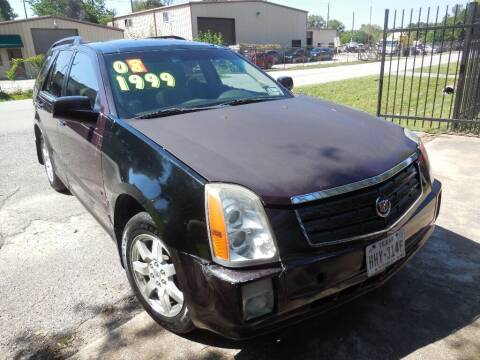 2008 Cadillac SRX for sale at SCOTT HARRISON MOTOR CO in Houston TX