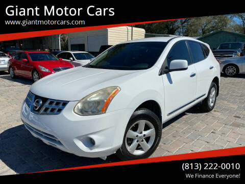 2013 Nissan Rogue for sale at Giant Motor Cars in Tampa FL
