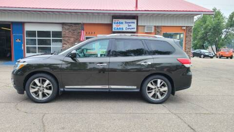 2015 Nissan Pathfinder for sale at Twin City Motors in Grand Forks ND