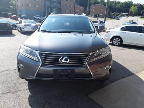 2013 Lexus RX 350 for sale at Auto Villa in Danville VA