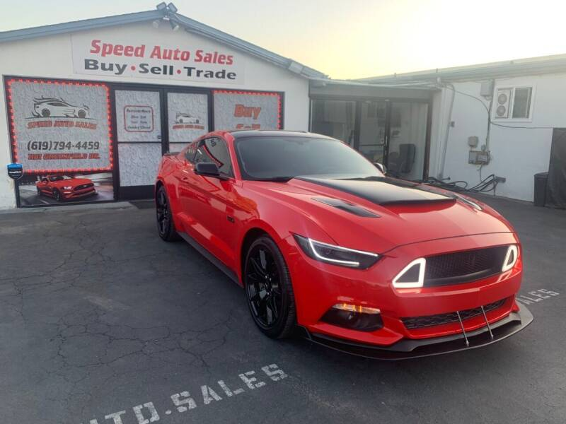 2017 Ford Mustang for sale at Speed Auto Sales in El Cajon CA