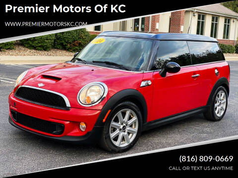 2014 MINI Clubman for sale at Premier Motors of KC in Kansas City MO