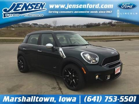 2013 MINI Countryman for sale at JENSEN FORD LINCOLN MERCURY in Marshalltown IA