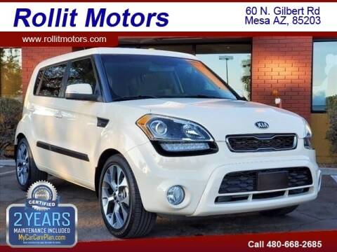 2013 Kia Soul for sale at Rollit Motors in Mesa AZ