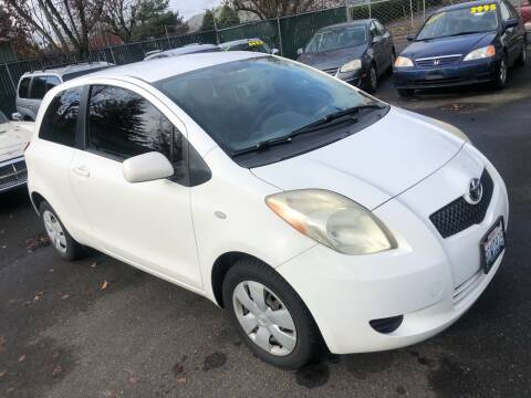 2007 Toyota Yaris for sale at Blue Line Auto Group in Portland OR