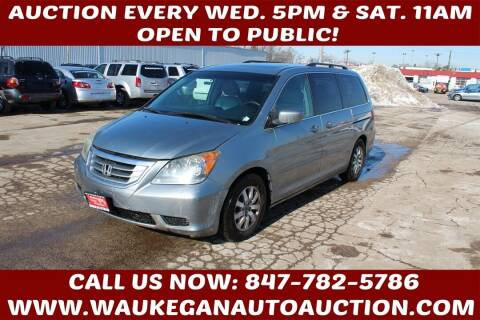 2008 Honda Odyssey for sale at Waukegan Auto Auction in Waukegan IL