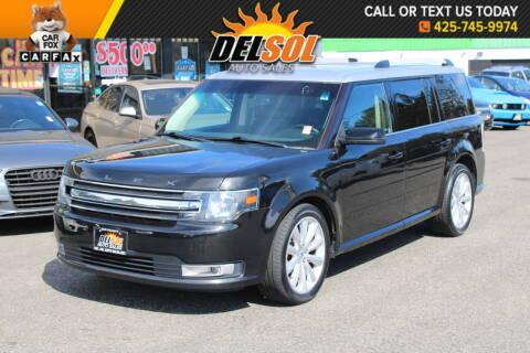 2013 Ford Flex for sale at Del Sol Auto Sales in Everett WA