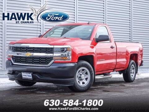 2017 Chevrolet Silverado 1500 for sale at Hawk Ford of St. Charles in St Charles IL