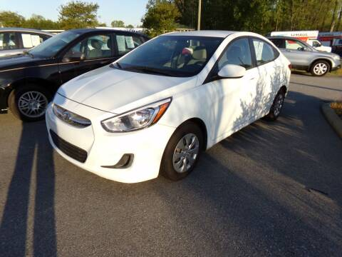 2016 Hyundai Accent for sale at Creech Auto Sales in Garner NC