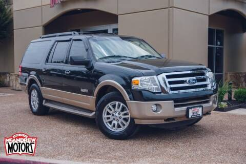2014 Ford Expedition EL for sale at Mcandrew Motors in Arlington TX