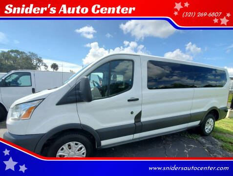 2015 Ford Transit Passenger for sale at Snider's Auto Center in Titusville FL