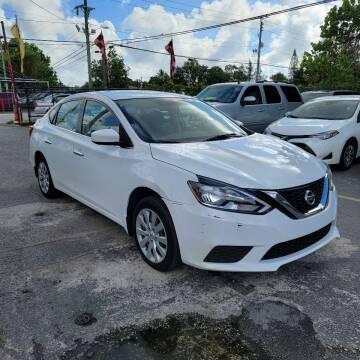 2017 Nissan Sentra for sale at America Auto Wholesale Inc in Miami FL