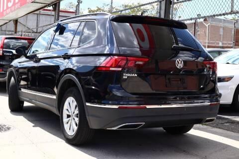 2018 Volkswagen Tiguan for sale at HILLSIDE AUTO MALL INC in Jamaica NY