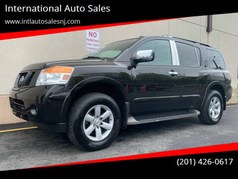 2012 Nissan Armada for sale at International Auto Sales in Hasbrouck Heights NJ