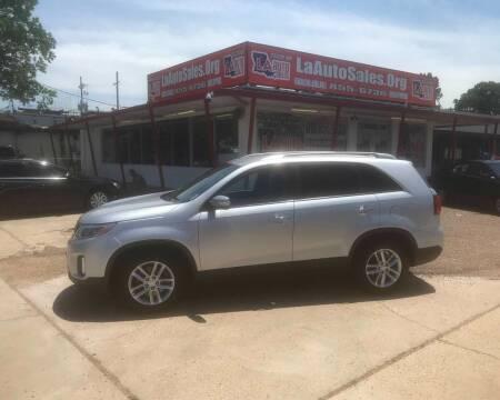 2014 Kia Sorento for sale at LA Auto Sales in Monroe LA